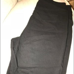 Black shorts with tummy control